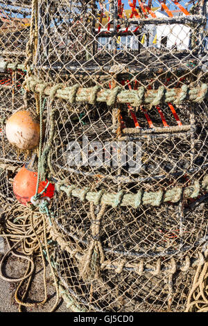lobster traps, buoys and other commercial fishing gear, montauk, Reel Combo