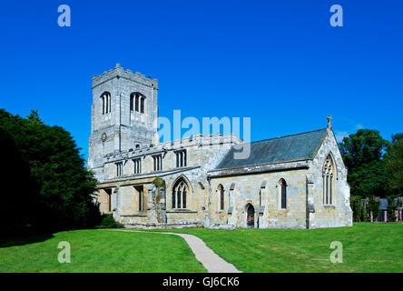 St Martin's Church, Burton Agnes, near Driffield, East Yorkshire, England UK
