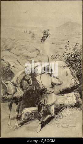 Sport and adventures among the North-American Indians (1890) - Stock Photo