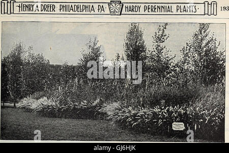 Dreer's garden book 1918 (1918) - Stock Photo