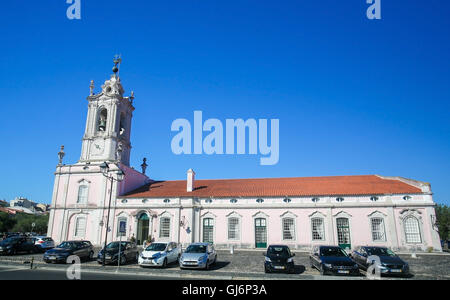 QUELUZ, PORTUGAL - JULY 14, 2016: The Pousada of D. Maria is part of the Pousadas de Portugal network of lodgings, - Stock Photo