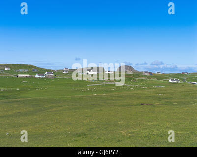 dh FAIR ISLE SHETLAND Croft cottage houses village crofts scotland ...