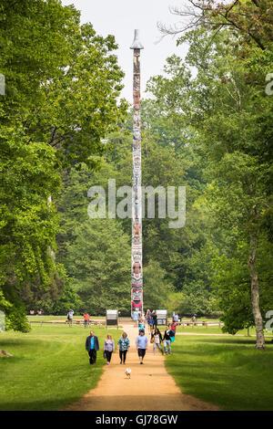Totem Pole In Windsor Great Park Berkshire Stock Photo Royalty Free Image 23145139 Alamy