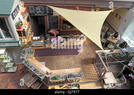Cafe at Manchester Craft and Design Centre, 17 Oak St, Manchester, UK M4 5JD - Stock Photo