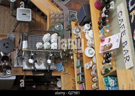 Manchester Craft and Design Centre Cafe, 17 Oak St, Manchester, UK M4 5JD - Stock Photo