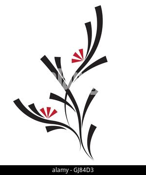 floral decorations - Stock Photo