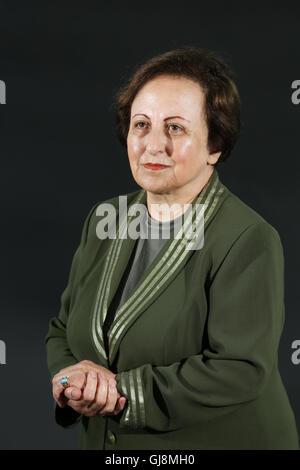 Edinburgh, Scotland. 13th August 2016.  Shirin Ebadi, Iranian lawyer, author and human rights activist at The Edinburgh - Stock Photo