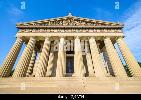 Parthenon Replica at Centennial Park in Nashville, Tennessee, USA. Stock Photo