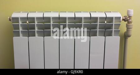 radiator for heating  premises - Stock Photo