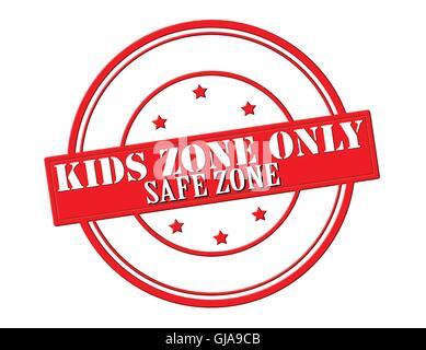 Kids zone - Stock Photo