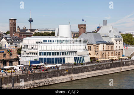 The Chocolate Museum in Cologne, Germany - Stock Photo