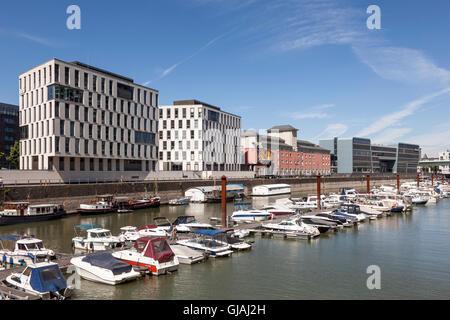 Rheinauhafen in Cologne, Germany - Stock Photo