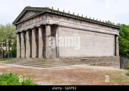 Oratory at Liverpool's Anglican cathedral. Originally the mortuary chapel of St James' Cemetery.  It was designed - Stock Photo