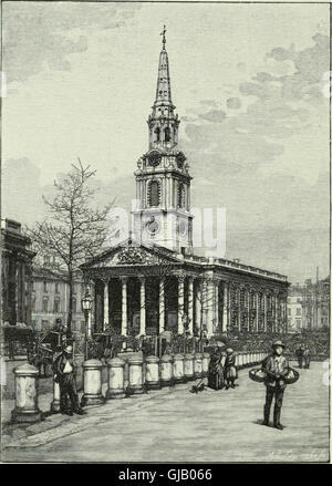 Cathedrals, abbeys and churches of England and Wales - descriptive, historical, pictorial (1890) - Stock Photo