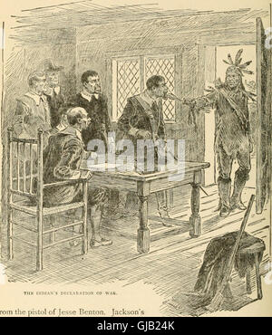 The library of American history, literature and biography (1904) - Stock Photo