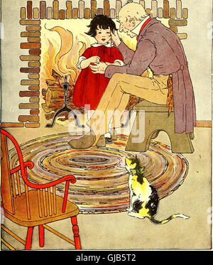 The Peter Patter book; rimes for children (1918) - Stock Photo