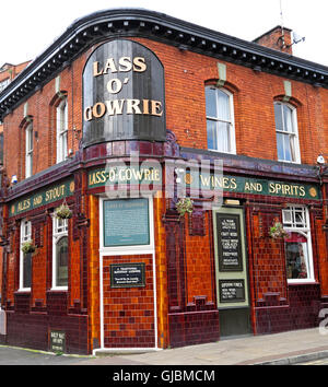 Lass O Gowrie pub, 36 Charles St, Manchester, North West England, UK,  M1 7DB - Stock Photo