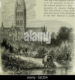 Cathedrals, abbeys and churches of England and Wales, descriptive, historical, pictorial (1896) - Stock Photo