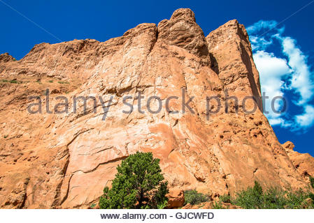 Garden Of The Gods Manitou Springs Colorado Stock Photo Royalty Free Image 118763536 Alamy