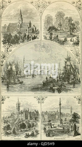An illustrated and descriptive guide to the great railways of England and their connections with the Continent (1885) - Stock Photo