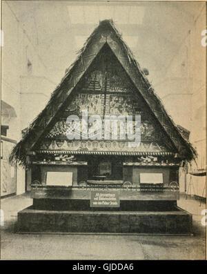 Vom Kerbstock zum Alphabet; Ersatzmittel und Vorstufen der Schrift (1921) - Stock Photo
