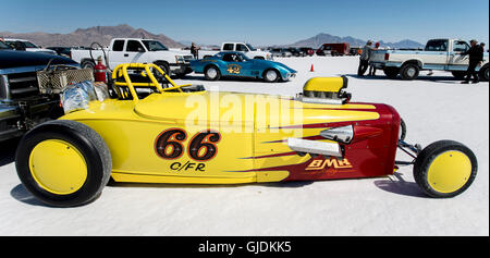Wendover Utah Usa Aug A Race Car Waits In Line For