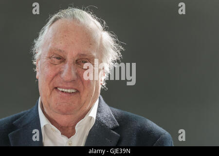 Edinburgh, Scotland, UK. 16th Aug, 2016. Frederick Forsyth at the Edinburgh International Book Festival. Credit: - Stock Photo