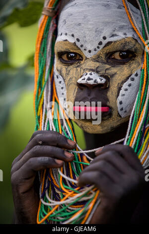 Ethiopian Tribes, Suri boys - Dietmar Temps, photography