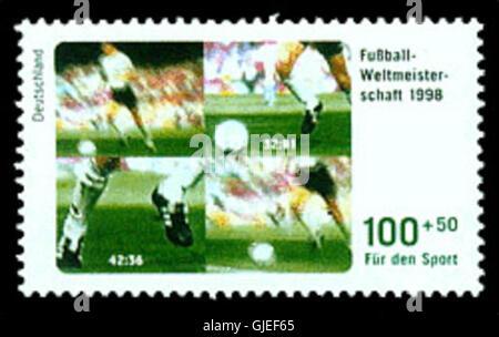 DPAG1998-Sport-Fussball - Stock Photo