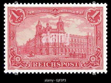 Germania63 a postfrisch - Stock Photo