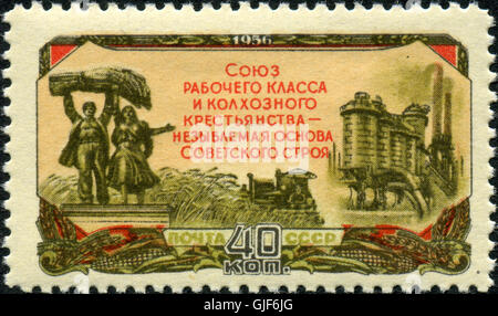 Stamp of USSR 1939 - Stock Photo
