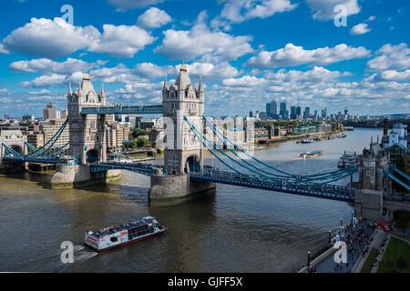 Tower Bridge, London, United Kingdom - Stock Photo