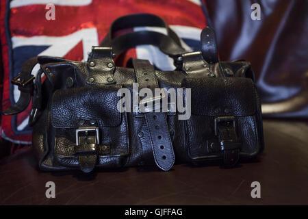 British made Mulberry Roxanne leather handbag - Stock Photo