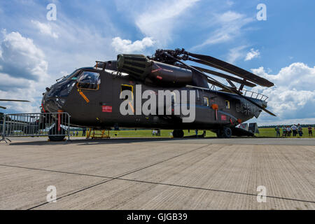 Heavy-lift cargo helicopter Sikorsky CH-53 Sea Stallion. German Army (Bundeswehr).