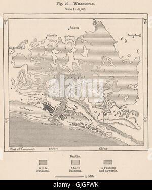 Netherlands Antilles Curacao Map Stock Photo Royalty Free Image - Netherlands antilles map