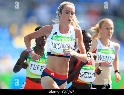 Great Britain's Eilish McColgan during the women's 5000m heat 2 at the Olympic Stadium on the eleventh day of the - Stock Photo