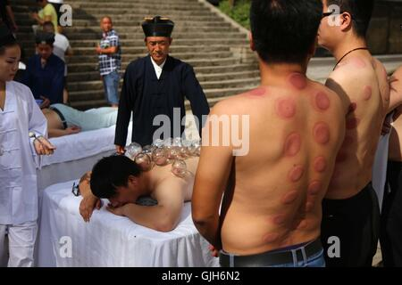 Luoyang, Luoyang, China. 17th Aug, 2016. Luoyang, CHINA-?August 14?2016:?(EDITORIAL?USE?ONLY.?CHINA?OUT) Taoists - Stock Photo