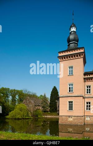 Deutschland, Nordrhein-Westfalen, Rhein-Erft-Kreis, Erftstadt-Liblar, Schloss Gracht,  'Cologne Campus - Stock Photo
