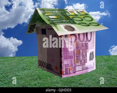 house building model - Stock Photo