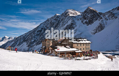 dresdner hutte - Stock Photo