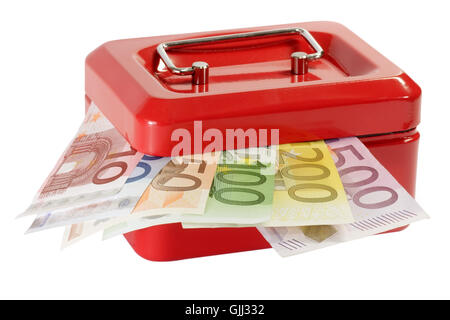 euro currency bank note - Stock Photo