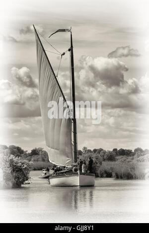 Norfolk Wherries - Stock Photo