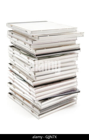 stack data protection CD - Stock Photo