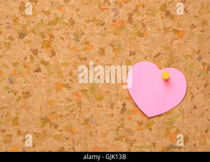note memo romantic - Stock Photo