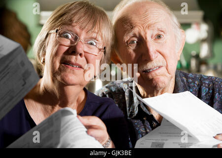 grandpa grandfather grandmother - Stock Photo