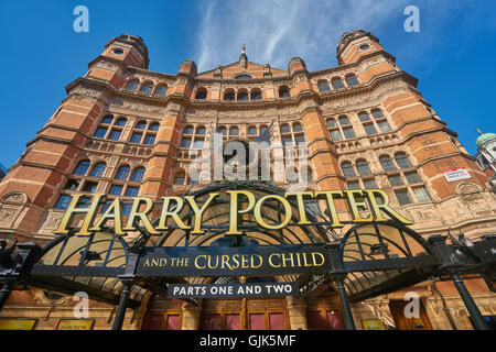 Harry Potter and the Cursed Child.  Palace theatre - Stock Photo