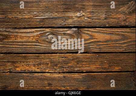 Old wood background texture. - Stock Photo