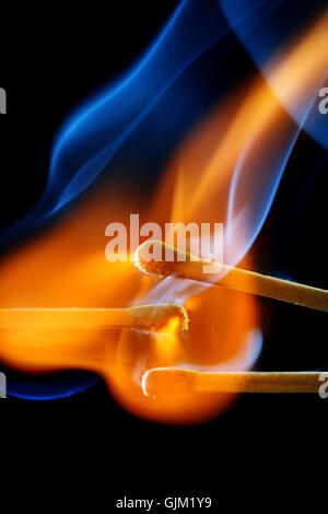 fire conflagration flame - Stock Photo