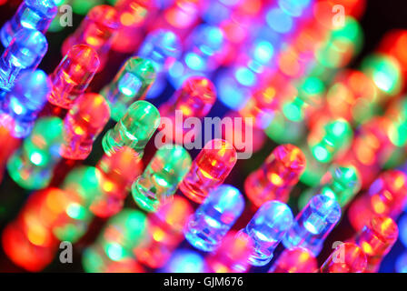 rgb diode light-emitting diode - Stock Photo