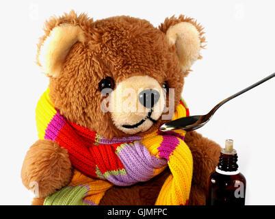 Bear cold catarrh teddy teddy bear teddybear flu disease cold catarrh teddy cold catarrh teddy stock photo thecheapjerseys Gallery